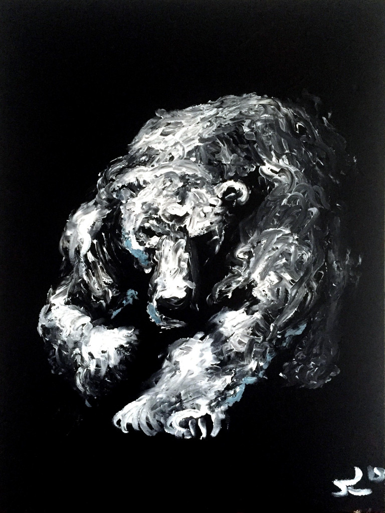 Polar 2015 Acrylic on canvas SOLD