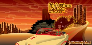 Cd Cover voor Night time lovers