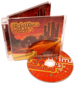 Cd en Cover voor Night time lovers