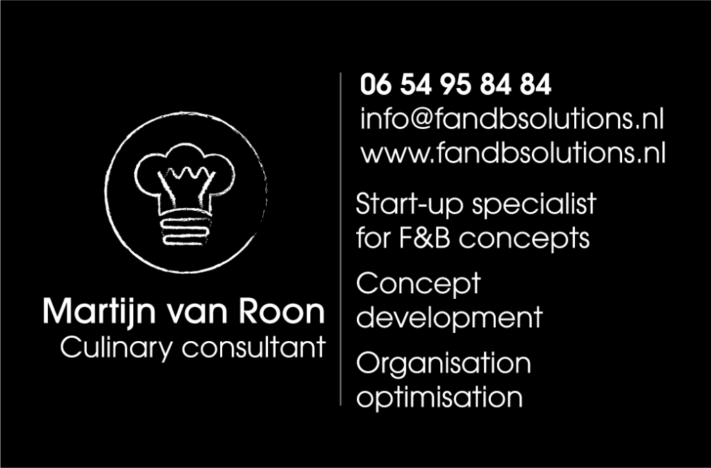 visitekaartje F&B solutions Back